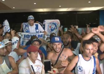 Lucas Silva given hero's welcome on return to Cruzeiro