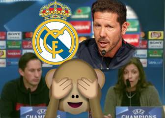 Simeone coaches Real Madrid!?? Translator has presser nightmare
