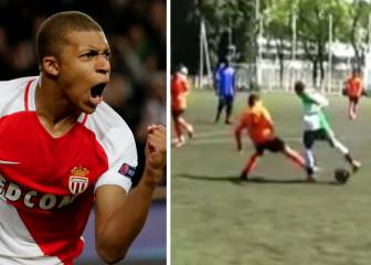 Starlet Mbappé terrorising defences as 9-year-old