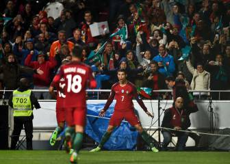 Portuguese TV commentator enjoys CR7 strike: