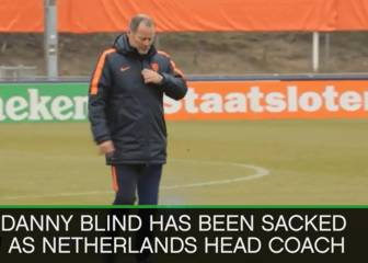 The results that got Netherlands coach Danny Blind sacked