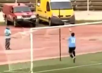 Calamitous kick-out sees keeper concede comedy goal