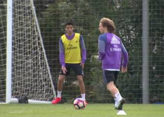 Modric rejoins Real training after return from Croatia duty