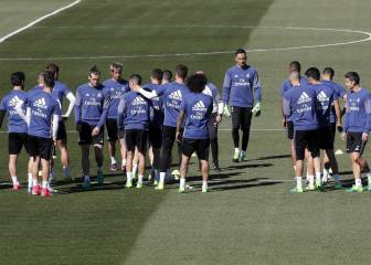 Varane the only absentee as Real finalise Lega preparations