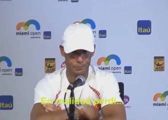 Nadal not amused by reporter's question: