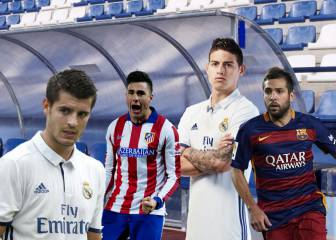 El 11 ideal de suplentes de LaLiga: ¡cracks al banquillo!