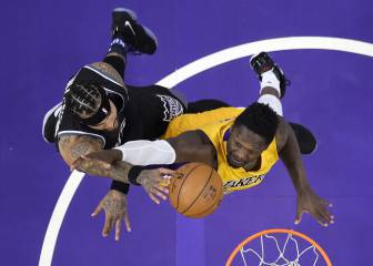 Resumen del Sacramento Kings-Los Ángeles Lakers de la NBA