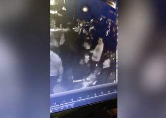 Ross Barkley floored in a Liverpool bar