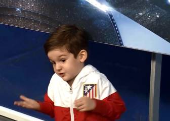 Son of Atlético's Filipe Luis says Griezmann HAS to leave club