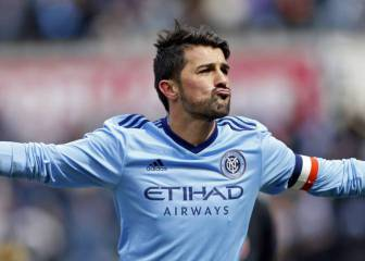 David Villa scores 50 yard 'screamer' for NYCFC