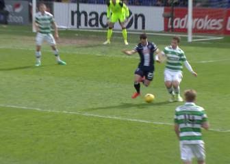 Down in history? SPL player hoodwinks ref with perfect dive
