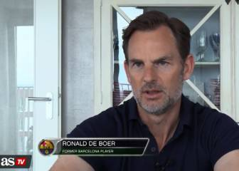 Barça more of a team than Real - De Boer ahead of El Clásico