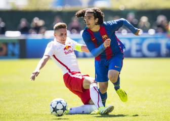 El Red Bull apea al Barça de la gran final de la Youth League