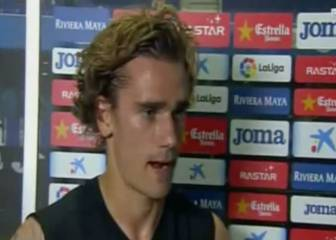 Griezmann storms off when reporter asks about his future