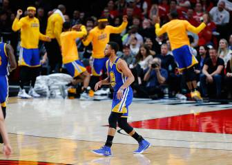 Resumen del Portland Trail Blazers - Golden State Warriors