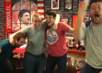 Wild celebrations on Liverpool fan channel after Can stunner