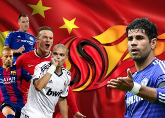Costa, Pepe, Mascherano and more linked with China move