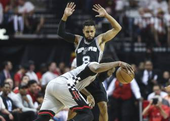 Resumen del Houston Rockets - San Antonio Spurs de NBA
