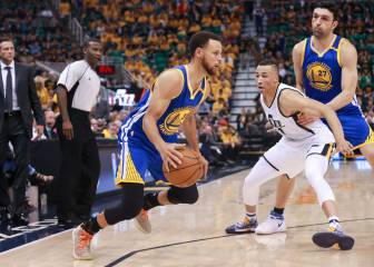 Resumen del Utah Jazz-Golden State Warriors de la NBA