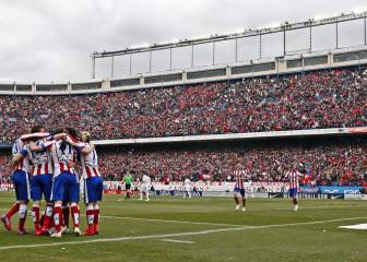 Atlético's derby precedent: 4-0 against Madrid in the Calderón