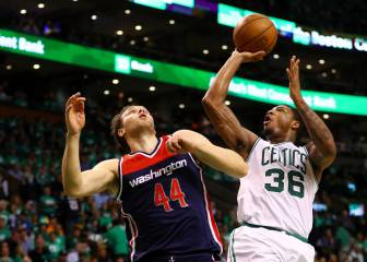 Resumen del Boston Celtics - Washington Wizards de la NBA