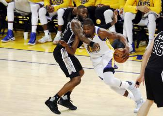 Resumen de Golden State Warriors-San Antonio Spurs