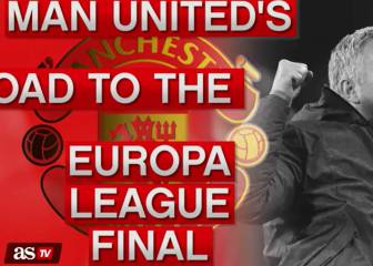 Man United's Road to the Europa League final