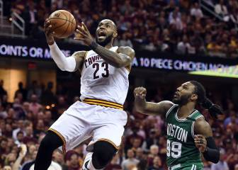 Resumen del Cleveland Cavaliers-Boston Celtics de la NBA
