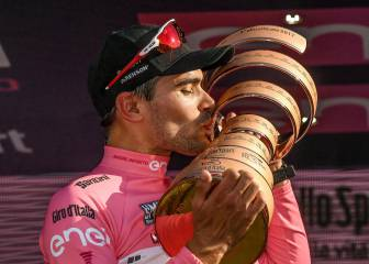Dumoulin 'never expected' to win Giro
