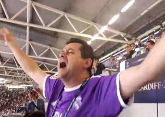 Roncero emocionado y con la voz rota cantando el 'We are the Champions'