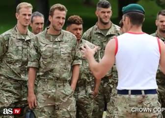 England taken out of comfort zone on Marines trip - Butland