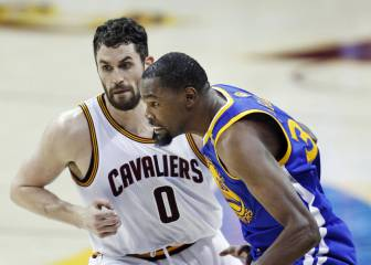 Resumen del Cleveland Cavaliers - Golden State Warriors