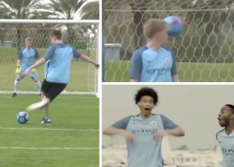 YouTuber's 'rabona' penalty smacks De Bruyne in face