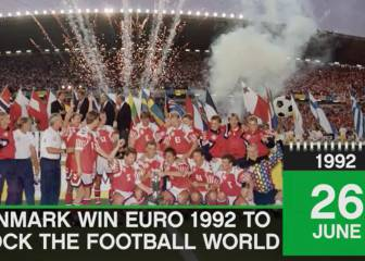 On This Day: 26 June - Denmark win Euro 1992