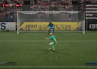 Messi and Suárez' penalty recreated on FIFA 17
