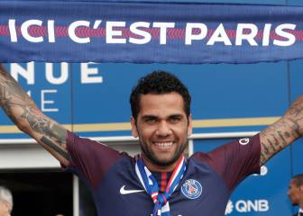Dani Alves lured by