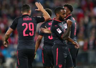 Debut Arsenal goal takes pressure off Lacazette - Wenger