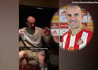 Sunderland player caught on camera saying team