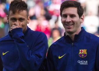 Messi bids Neymar farewell: