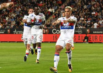 Mariano back among the goals for Lyon with towering header