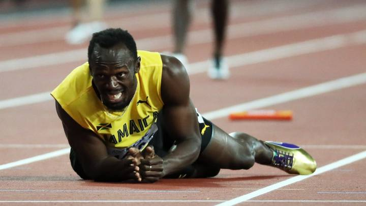 Usain Bolt | Great Britain won gold in the 4x100m relay, as the Jamaican\'s glittering career came to an abrupt end with the crack of a hamstring.