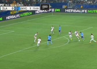 El Guaje Villa finds the top corner as NYC see off LA Galaxy