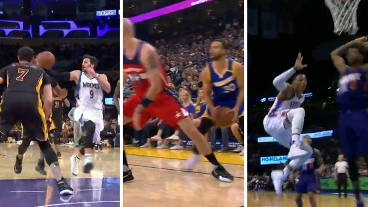 Son trileros: Curry, Westbrook, Ricky... ¡10 roturas de época!