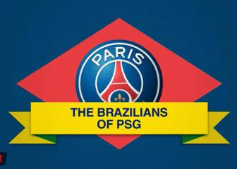 The history of Brazilians at PSG