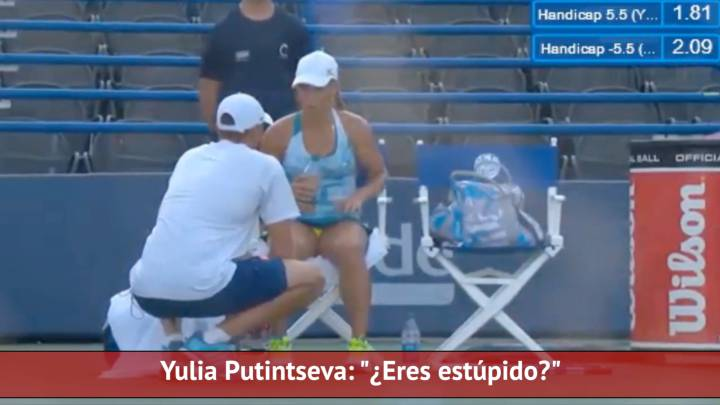 Putintseva lays into coach in courtside rant: \