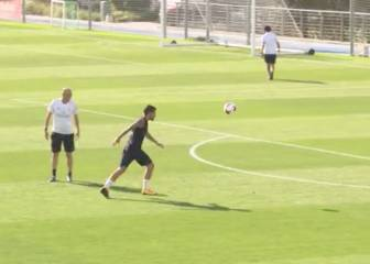 Ceballos scores a screamer in Real Madrid training