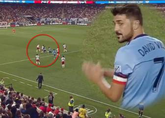 David Villa shines for NYCFC in New York derby