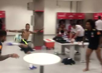 Neymar, Marcelo, Silva and Alves invent new table football