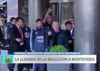 Messi shows his caring side and puts a security guard firmly in his place