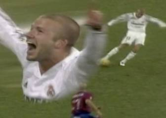 When Beckham cracked in a Real howitzer against Levante
